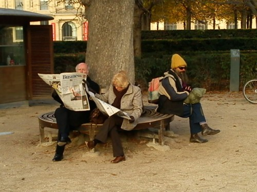 touristes au Louvre.JPG